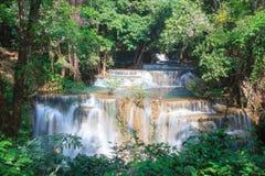 Huaymaekamin-Wasserfall Lizenzfreie Stockbilder