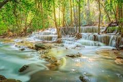 Huaymaekamin-Wasserfall Stockfotografie