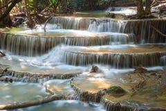 Huaymaekamin-Wasserfall Stockfotos