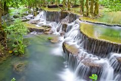 Huaymaekamin Waterfall Stock Photography