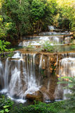 Huaymaekamin waterfall. Huaymaekamin waterfall in kanchanaburi, Thailand Stock Photos