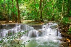 Huaymaekamin Waterfall Royalty Free Stock Photos
