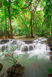 Huaymaekamin Waterfall Royalty Free Stock Images
