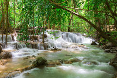 Huaymaekamin Waterfall Royalty Free Stock Image