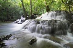 Huaymaekamin Waterfall Royalty Free Stock Photo