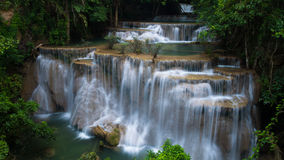 Huaymaekamin Waterfall Royalty Free Stock Photography