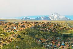 Huayna-Potosi-Berg Lizenzfreies Stockbild