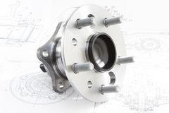 Hub with bearing Stock Image