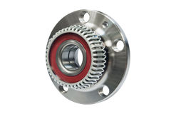 Hub bearing wheel of a car Royalty Free Stock Photography