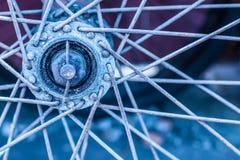 Hub d'Oldbike photographie stock libre de droits