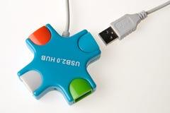 Hub d'USB Photographie stock libre de droits