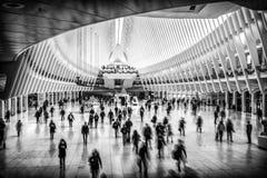Hub de transport de World Trade Center Photos stock