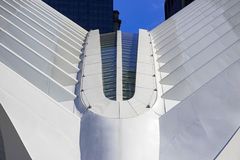 Hub de transport de World Trade Center, New York City, Etats-Unis Images libres de droits