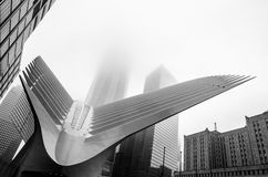 Hub de transport de World Trade Center, New York City, Etats-Unis Photo libre de droits