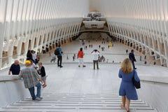 Hub del trasporto del World Trade Center Fotografie Stock Libere da Diritti
