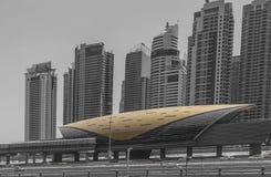 Hub di trasporto del Dubai Fotografia Stock Libera da Diritti