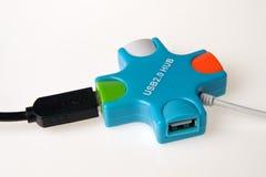 Hub di USB Fotografia Stock