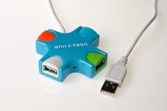 Hub di USB Immagine Stock