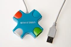 Hub di USB Fotografia Stock Libera da Diritti