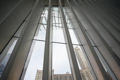 Hub et station de transport de World Trade Center d'Oculus image stock