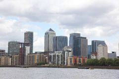 Hub financier de Londres Photo stock