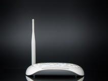 Hub sans fil de réseau de routeur de modem Photo libre de droits