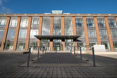 The Hub, serviced offices in a renovated art deco style building on Farnborough Business Park, Hampshire UK.
