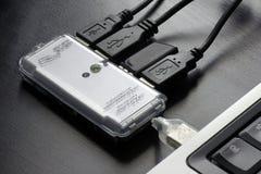 Hub USB Royalty-vrije Stock Afbeeldingen