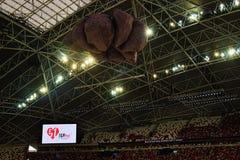 Hub van het Stadionsporten van Ndp 2016 Singapore de Nationale Stock Afbeeldingen