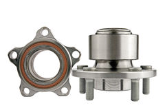 Hub and wheel bearing kit Royalty Free Stock Images