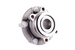 Hub and wheel bearing kit. On white Royalty Free Stock Photography