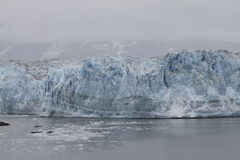 hubbard ледника Аляски Стоковые Изображения