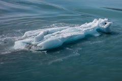 hubbard ледника Аляски Стоковое Изображение