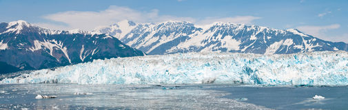 hubbard ледника Аляски Стоковое Изображение RF