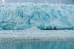 Hubbard Alaska glaciär Royaltyfri Bild