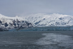 Hubbard Bay Glacier. A Tidewater Glacier on Hubbard Bay recognizable by its blue ice Royalty Free Stock Photos