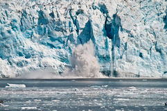 Hubbard Glacier, Alaska Royalty Free Stock Images