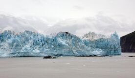 Hubbard Glacier. Alaska. royalty free stock images