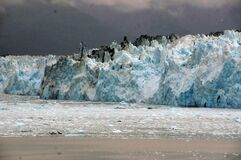 Hubbard Glacier. Alaska. royalty free stock photos