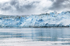 Hubbard Glacier, Alaska, detail of Blue Ice Royalty Free Stock Image