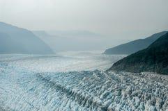 Hubbard Glacier - Alaska. Hubbard Glacier located in eastern Alaska and part of Yukon, Canada, and named after Gardiner Hubbard Royalty Free Stock Image