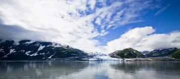 Hubbard Glacier Alaska USA royalty free stock image