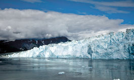 Hubbard Glacier Alaska USA royalty free stock photos