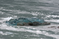 The Hubbard Glacier while melting Stock Photography