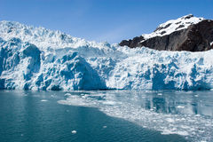 Hubbard Glacier in Seward, Alaska Royalty Free Stock Images