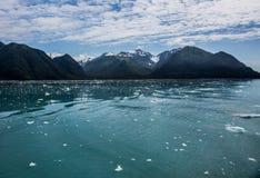hubbard lodowa na alaskę Fotografia Royalty Free