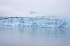 Hubbard lodowiec zdjęcie stock
