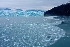 hubbard s ледника Аляски Стоковое Изображение RF
