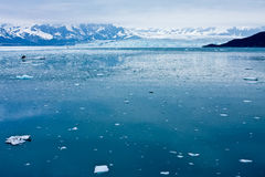hubbard s ледника Аляски Стоковые Изображения