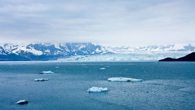 hubbard s ледника Аляски Стоковое фото RF